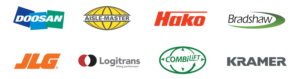 Warehouse Equipment Brand Logos