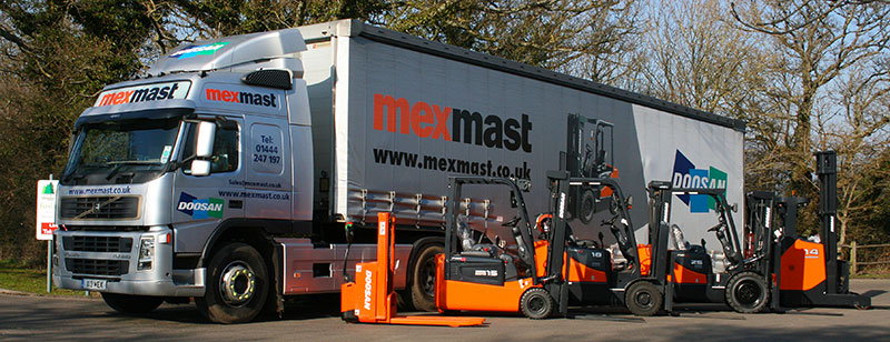Forklift Transport Options Sussex London