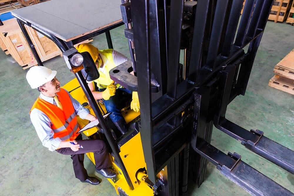 Forklift Driver Training London